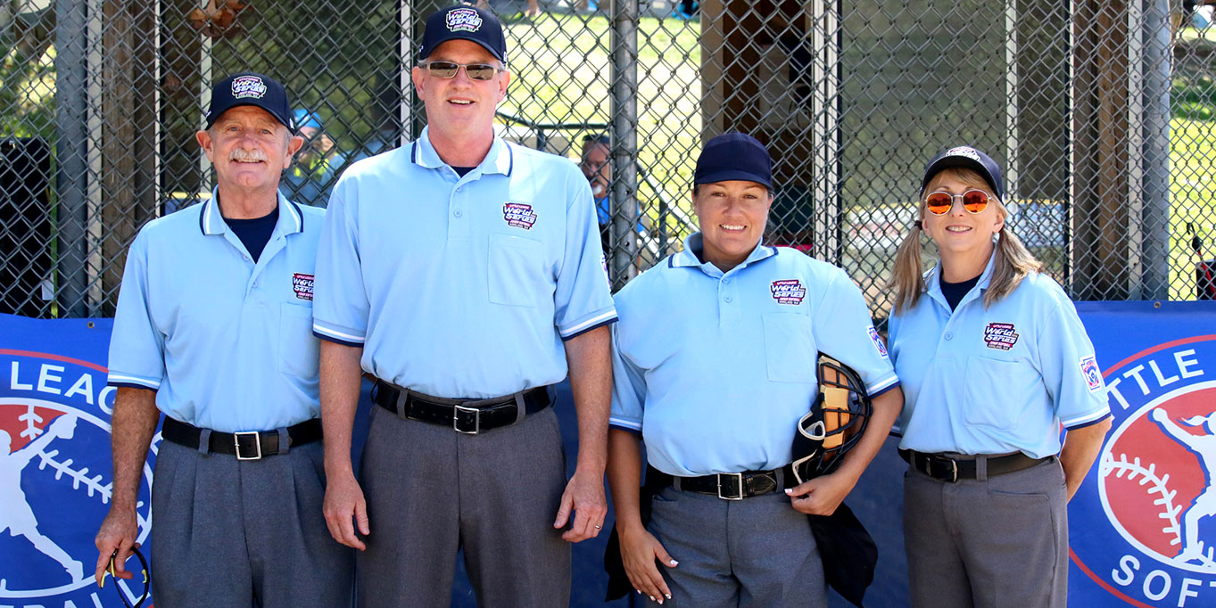 Group of LL World Series Umpires